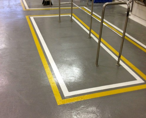 industrial floor painting contractors