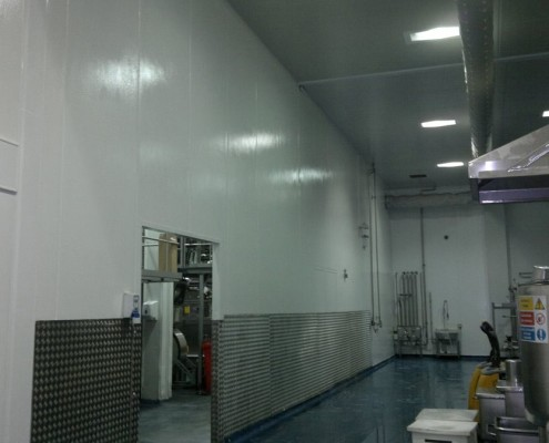 Epoxy Resin on Steel Wall