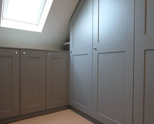 Sprayed Bedroom Wardrobe, Satin Finish