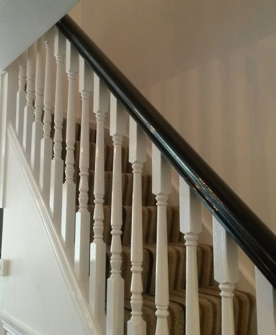 Stairs, High Gloss Finish