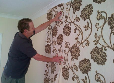 Professional Wallpaper Hanging